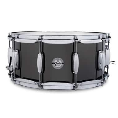Gretsch Full Range 14×6.5in Black Nickel Over Steel Snare Drum