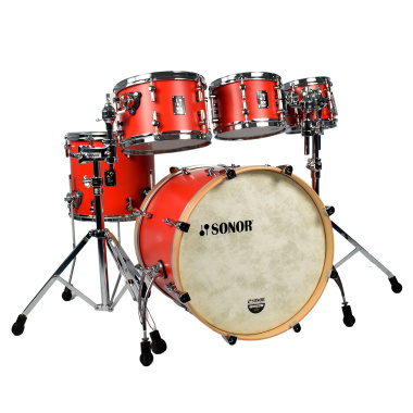 Sonor SQ1 Series 20in 5pc Shell Pack – Hot Red