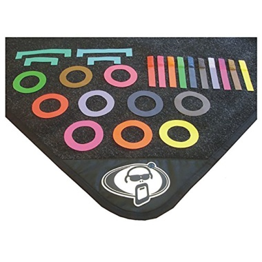 Protection Racket Coloured Mat Marker Pack For Drum Mats