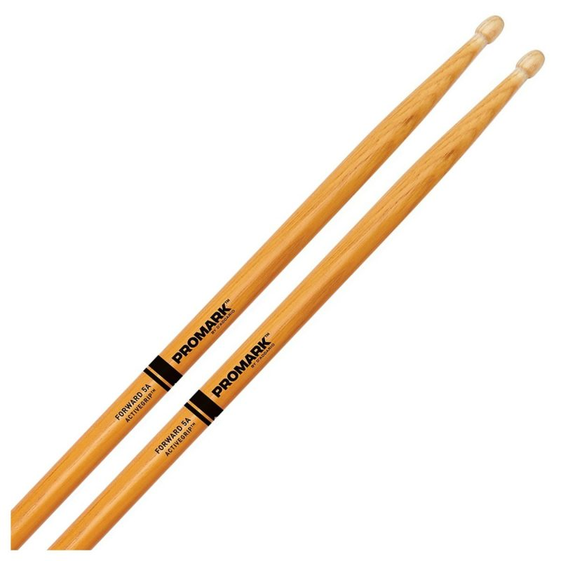 Promark Forward 5A ActiveGrip Clear Drumsticks