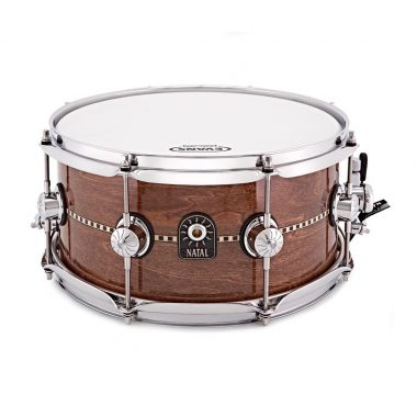 Natal 13×6.5in Cafe Racer Snare Drum – Gloss Inlay – WITH FREE CASE!
