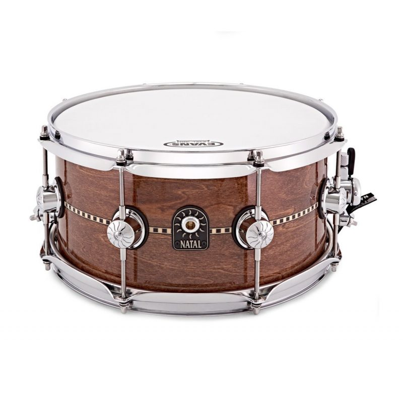 Natal 13×6.5in Cafe Racer Snare Drum – Gloss Inlay
