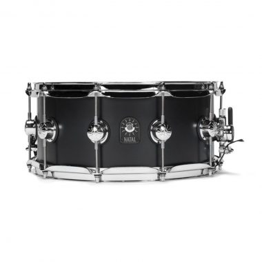 Natal 14×6.5in Cafe Racer Snare Drum – Matte Black