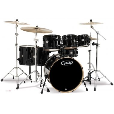 PDP Concept Maple CM7 22in 7pc Shell Pack – Pearlescent Black
