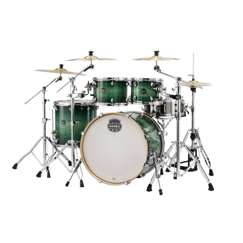 Mapex Armory 22in Rock Fusion 5pc Shell Pack – Emerald Burst
