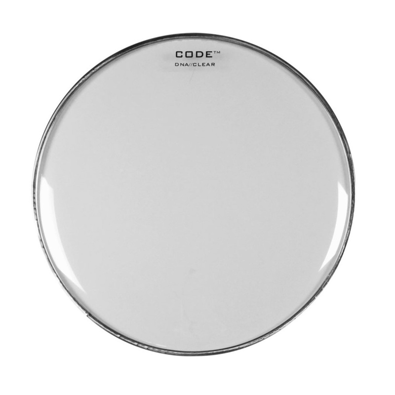 CODE 10in DNA Clear Drum Head