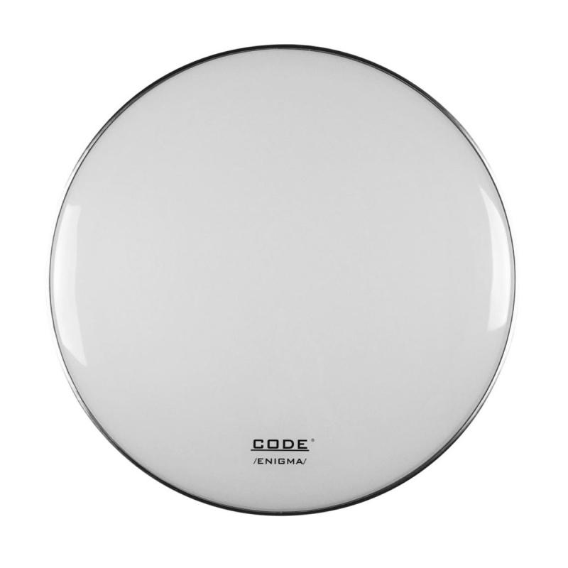 CODE 18in Enigma White Drum Head