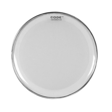 CODE 8in Generator Clear Drum Head