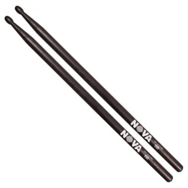 Vic Firth Nova BLACK Hickory Sticks – Wood Tip