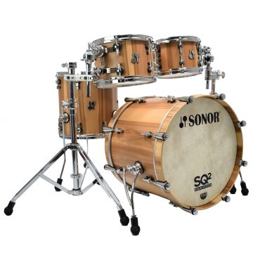 Sonor SQ2 20in 4pc Shell Pack – American Walnut