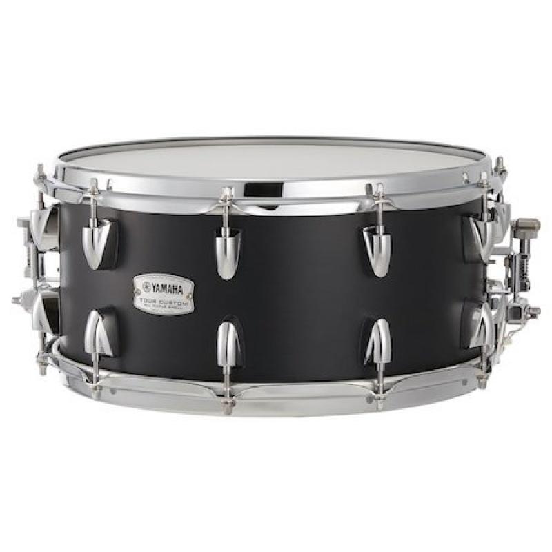 Yamaha Tour Custom 14×6.5 Snare – Licorice Satin