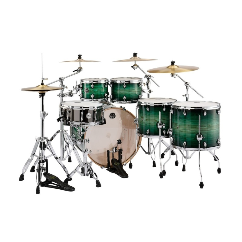 Mapex Armory 6pc Power Fusion Shell Pack – Emerald Burst
