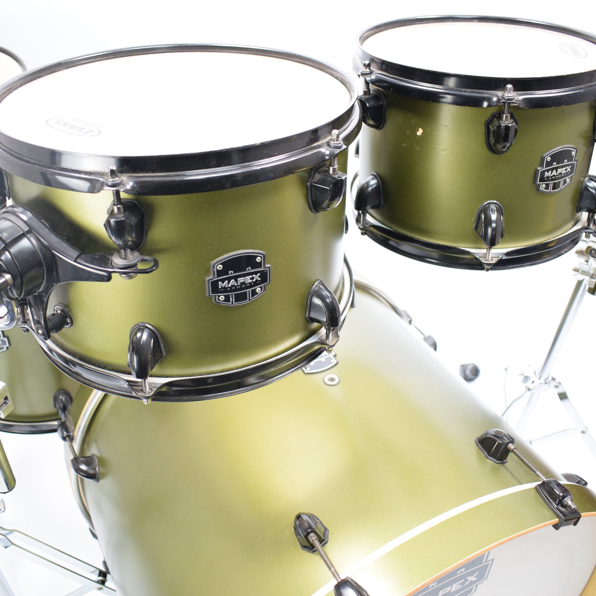 Mapex Armory 5pc Shell Pack, Mantis Green - Pre-owned – Drummers Only