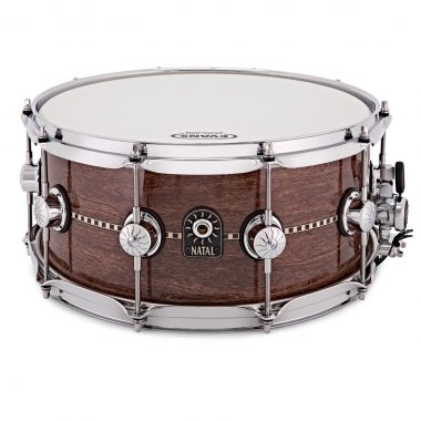 Natal 14×6.5in Cafe Racer Snare Drum – Gloss Inlay