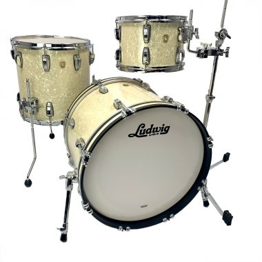 Ludwig Classic Maple 20in 3pc Shell Pack – Vintage White Marine