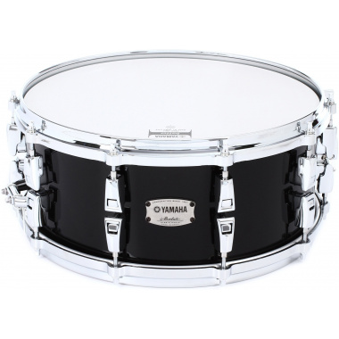 Yamaha Absolute Hybrid Maple 14x6in Snare – Solid Black