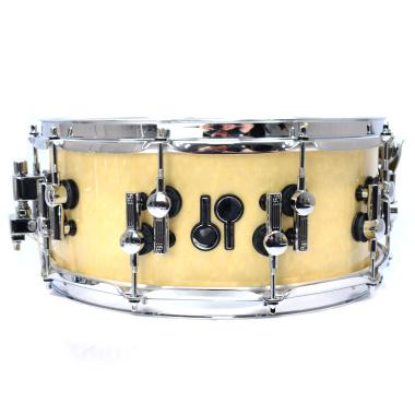 Sonor SQ2 14x6in Beech Snare Drum – Birdseye Maple, High Gloss