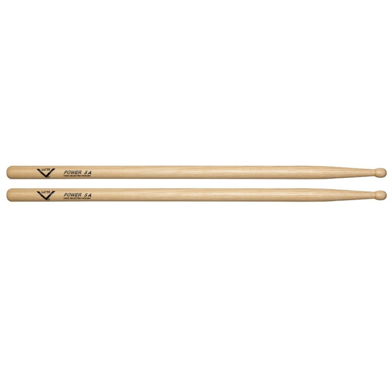 Vater Hickory Power 5A Sticks – Wood Tip