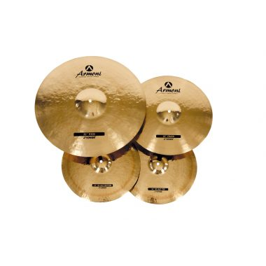 Sonor Armoni 3pc Cymbal Set With Bag