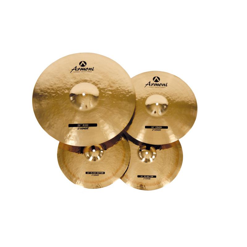 Sonor Armoni 3pc Cymbal Set With Bag