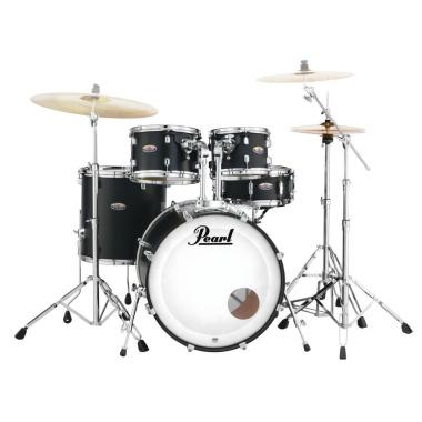 Pearl Decade Maple 22 American Fusion 5pc Kit – Satin Slate Black