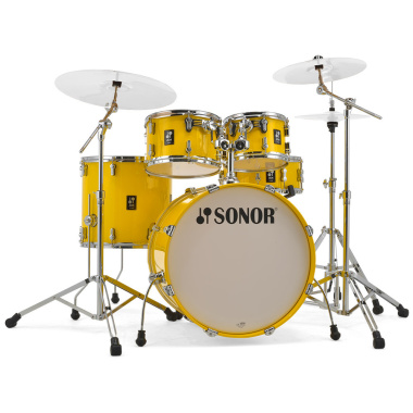 Sonor AQ1 Series 5pc Stage Set Shell Pack – Yellow