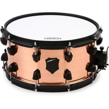 SJC Drums Armada 14x7in Copper Snare Drum W/ Black Hardware