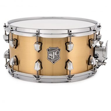 SJC Drums Goliath 13x7in Brushed Bell Brass Snare Drum