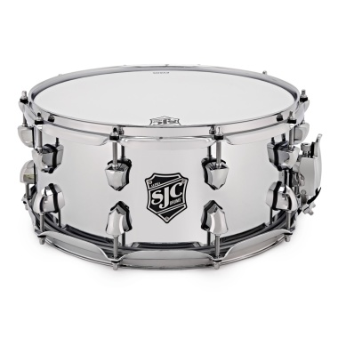 SJC Alpha 14×6.5in Chrome Over Steel Snare Drum