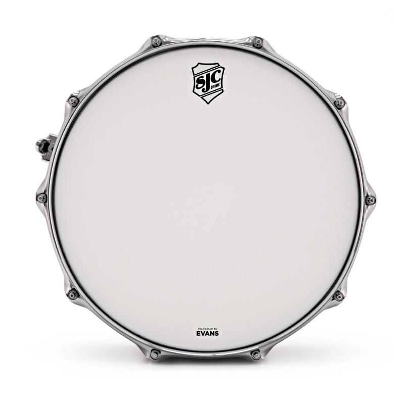 SJC Alpha 14×6.5in Chrome Over Steel Snare Drum