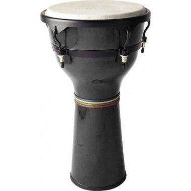 Stagg 10in Wood Djembe – Black DWM-10-B