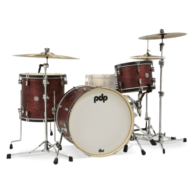 PDP Concept Classic 22in 3pc Shell Pack – Oxblood Stain
