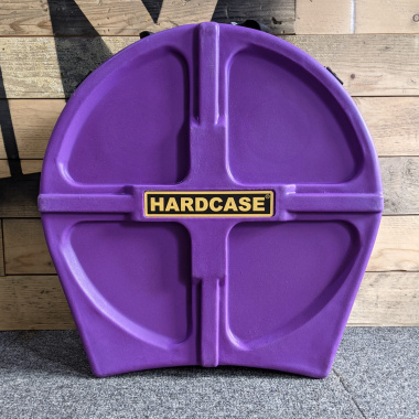 Hardcase 14in Piccolo Snare Case Fully Lined – Purple – Pre-Owned