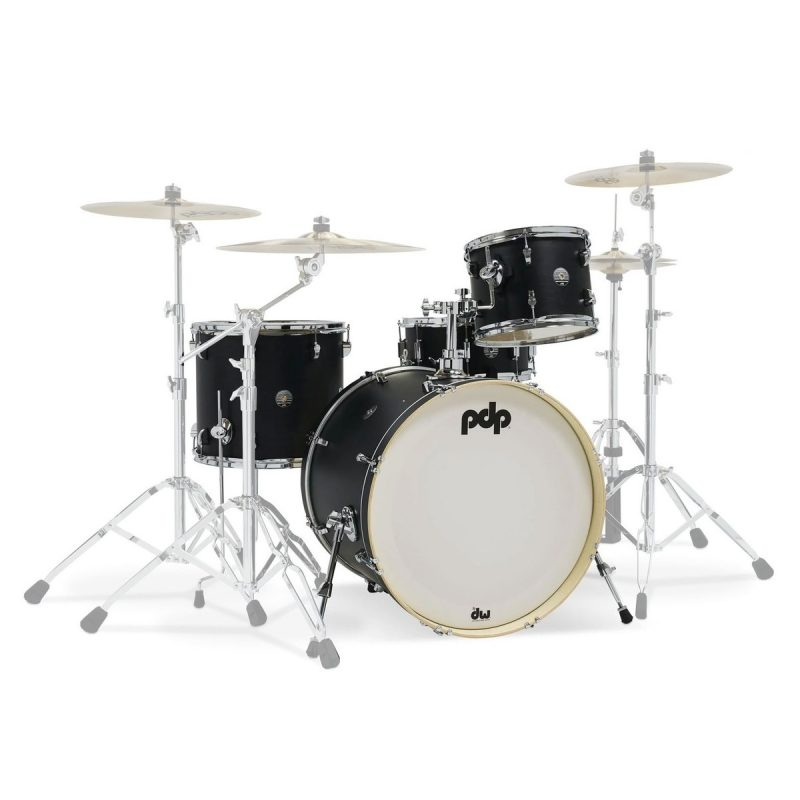 PDP Spectrum 4pc Shell Pack – Ebony Stain