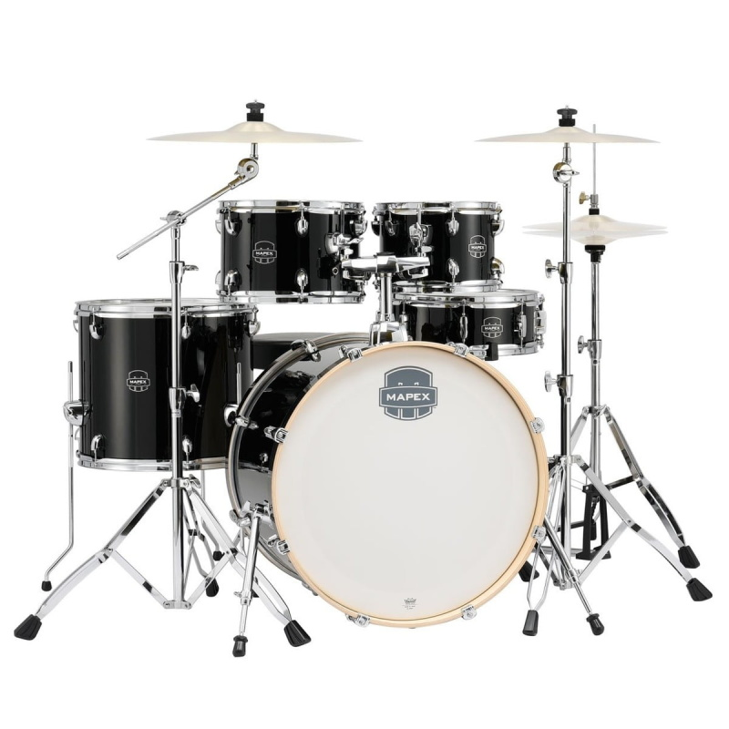 Mapex Storm Special Edition 22in 5pc Kit With Cymbals – Black
