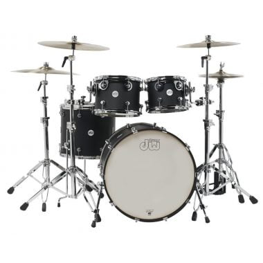 DW Design Series 20in 4pc Shell Pack – Black Satin
