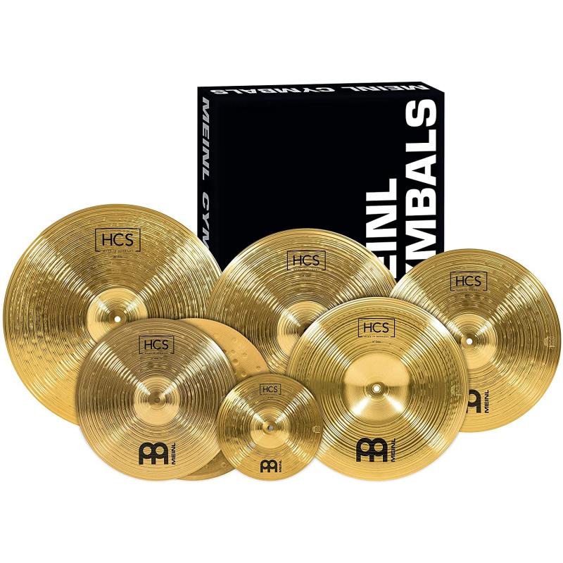 Meinl HCS Super 6 Set Cymbal Pack