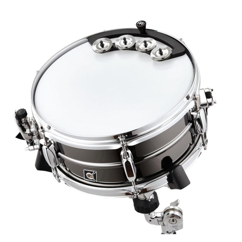 Meinl BBTA1-BK Backbeat Tambourine 10 – 12in