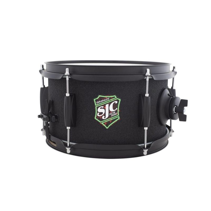 SJC Thrash Can 10x6in Snare Drum – Grip Tape