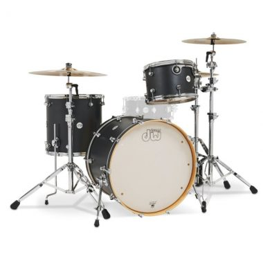 DW Design Series 22in 3pc Shell Pack – Iron Satin Metallic