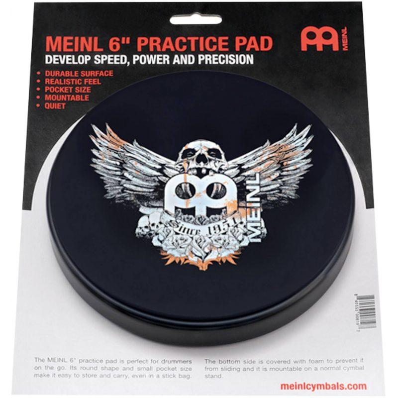 Meinl 6in Practice Pad – Jaw Breaker – MPP-6-JB