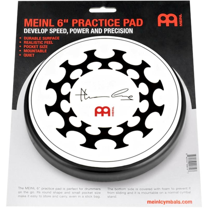 Meinl 6in Thomas Lang Practice Pad – MPP-6-TL