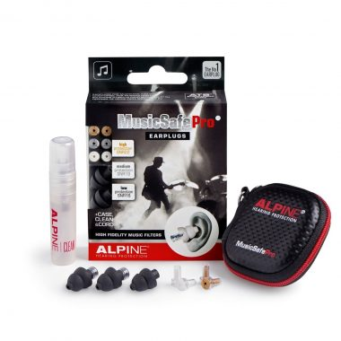 Alpine MusicSafe Pro 2019 BLACK Ear Plugs In Case