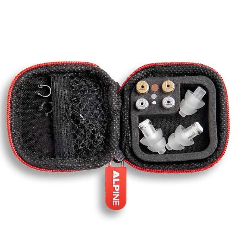 Alpine MusicSafe Pro 2019 TRANSPARENT Ear Plugs In Case