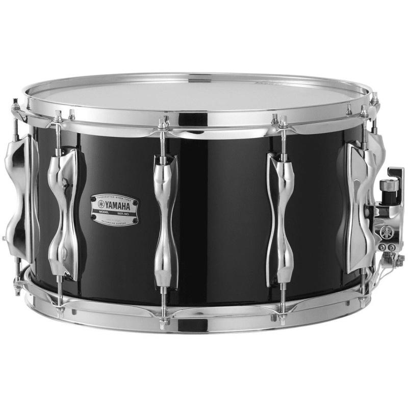 Yamaha Recording Custom 14x8in Birch Snare – Solid Black