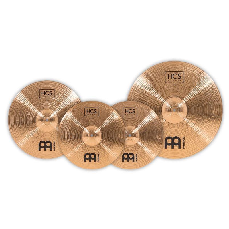 Meinl HCS Bronze Complete Cymbal Set