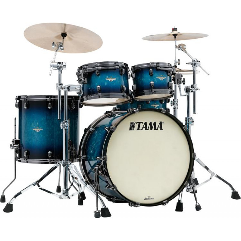 Tama Starclassic Maple 22in 4pc Shell Pack – Molten Electric Blue Burst