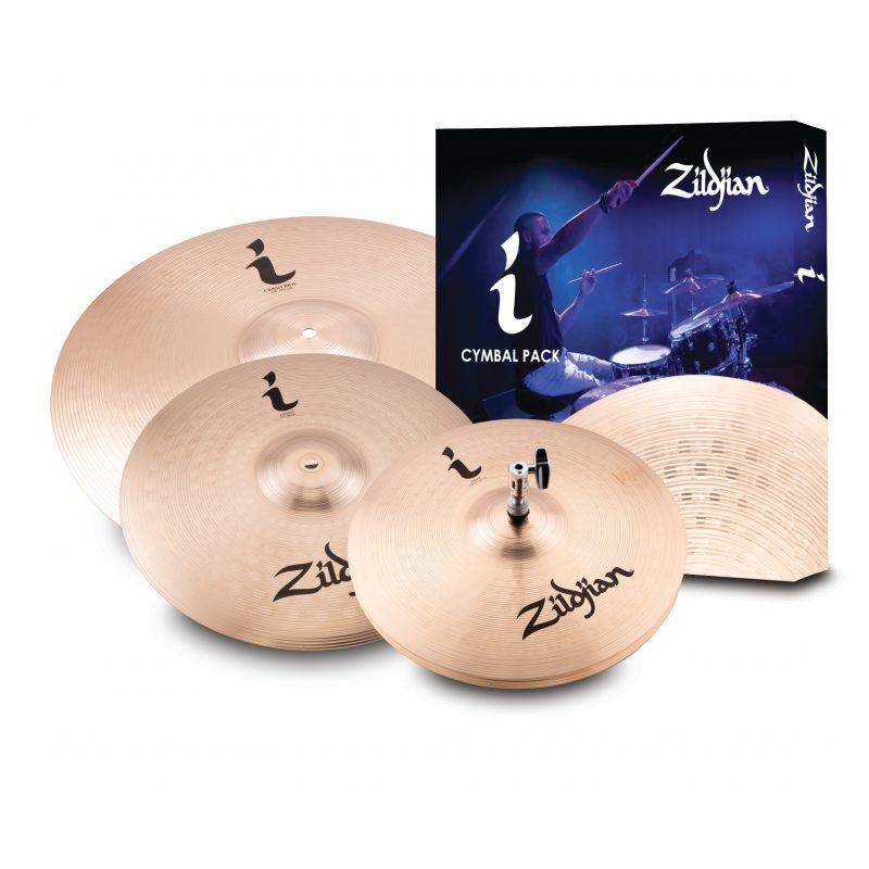 Zildjian I Family Essentials Plus Cymbal Box Set (13H-14C-18CR)