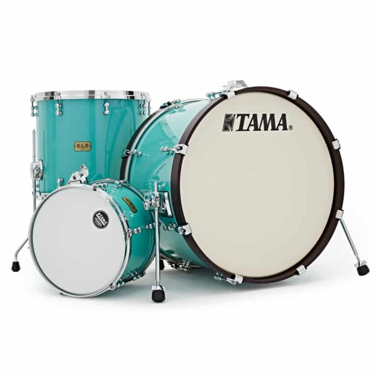 Tama SLP Fat Spruce 22in 3pc Shell Pack – Turquoise