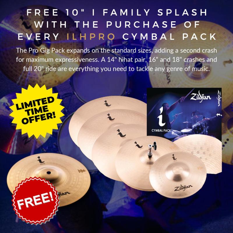 Zildjian I Family Pro Gig Cymbal Box Set – FREE SPLASH!